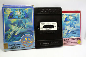 F-15-STRIKE-EAGLE-MICROPROSE-US-GOLD-USED-GAME-C64-COMMODORE-TAPE-FR1-67646