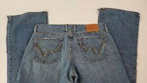 LUCKY-BRAND-Women-039-s-034-Typhoon-Dream-Jean-034-Denim-Flare-Leg-Jeans-Size-10-30