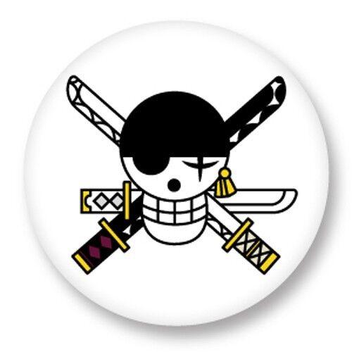 Porte clé Keychain Ø45mm One Piece Skull Logo Manga Japan Shōnen