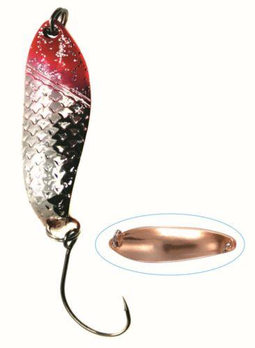 Paladin Trout Spoon 4,3g Forellenblinker Ultralight Spinnköder Blinker 4 Farben