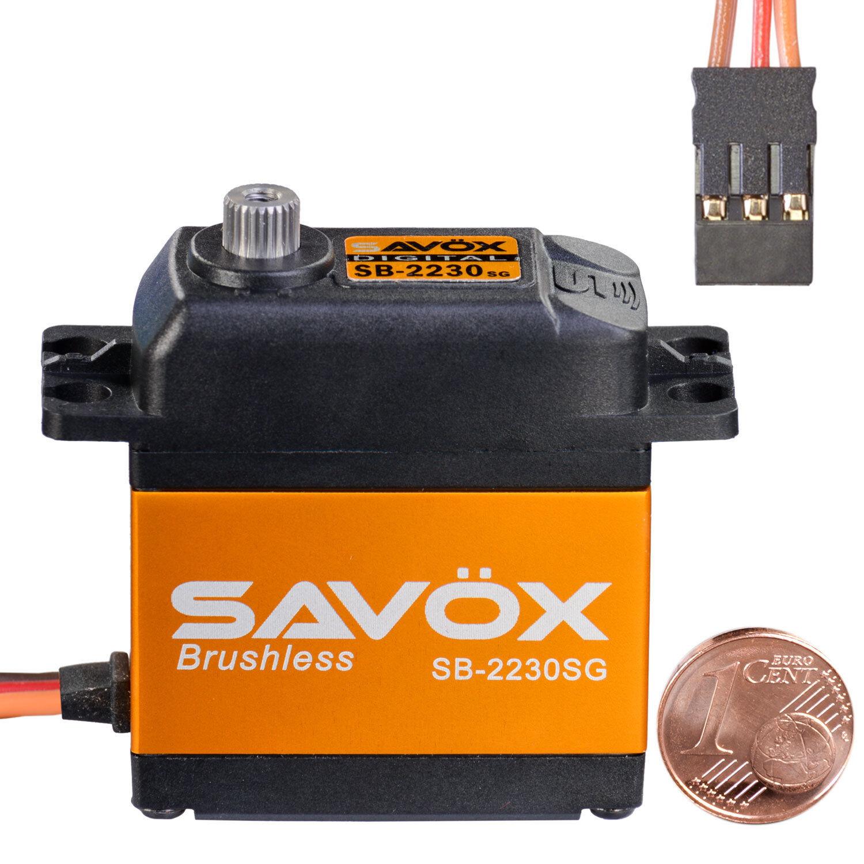 Digital brushless HV estándar servo sb-2230sg savöx 80101044 810219