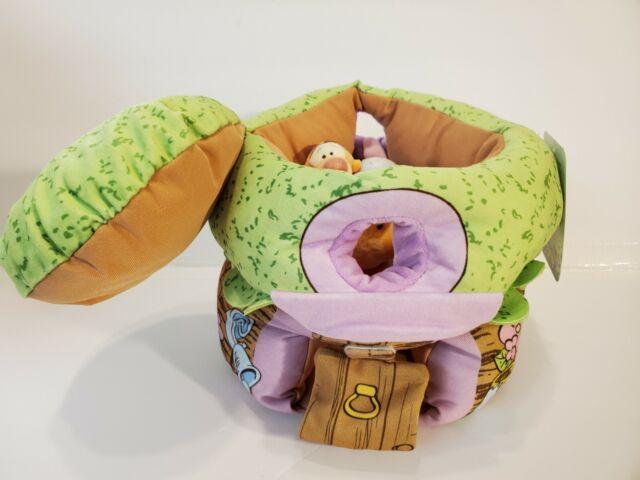 DISNEY BABY WINNIE THE POOH GOOD MORNING PLUSH BABY COMFORTER POOH TIGGER EEYORE