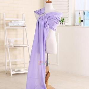 Adjustable Ergonomic Newborn Infant Baby Ring Sling Carrier Cotton Wrap Pouch
