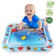 DE Baby Wasserkissen Spielmatte Aufblasbare Früherzieh Spielzeug 66 x 50 cm