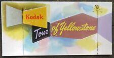 1950's Yellowstone Wyoming WY Kodak photography guide booklet brochure b