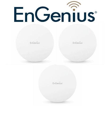 3 Pack Engenius Enturbo 11ac Wave 2 Compact Wireless Access Point Ac1300 Eap1250 Fancy Colors