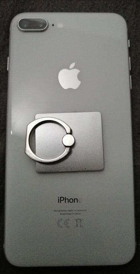 iPhone 8 Plus, 64 GB, hvid