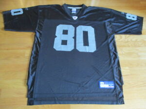 3697a8ede Reebok JERRY RICE No. 80 OAKLAND RAIDERS On-Field (XL) Jersey BLACK ...