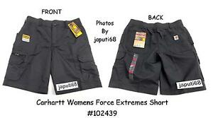 7b4222389b Image is loading Carhartt-Womens-FORCE-EXTREMES-Short-E3-2439-Free-