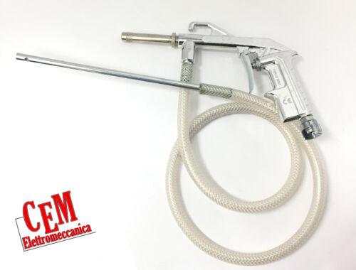 Pistola per sabbiatura in alluminio con tubo di pescaggio sabbia 1,5 metri