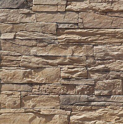 Wand Verblender Steinoptik, Wandverkleidung   Vivid Bronze   1 Musterstück