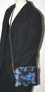3e23635d58f1b Das Bild wird geladen MICHAEL-KORS-Handtasche-Cindy-Neu-Admiral -blau-Paisley-