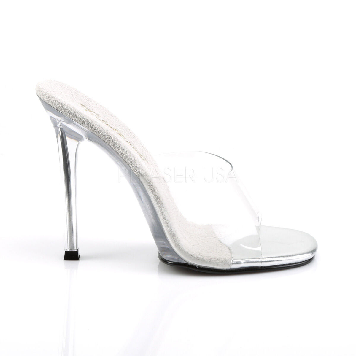 Fabulicius Slippers Gala 01 Clear Transparent Slippers Fabulicius Stiletto Heel Slide Sandals 99d70b