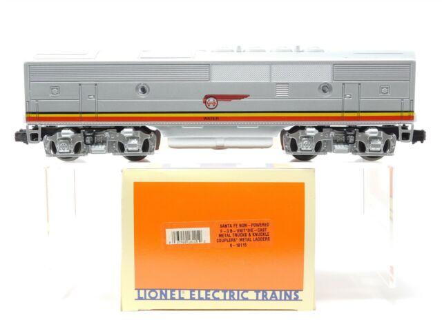 O Gauge 3-Rail Lionel 6-18115 ATSF Santa Fe F3B Diesel Loco No# Unpowered