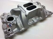 Edelbrock 7101 Performer RPM Hi Rise Intake Manifold S/B Chevy 262-400 V8 engine