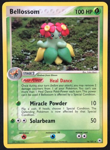 EX Hidden Legends Pokemon Card Bellossom 16//101 NEAR MINT Non-Holo Rare TCG!!!
