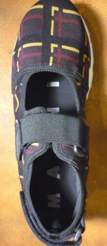 229 scarpe Nuove 610 Retail Ultima Ridotte 40 Scarpa Walnut coppia Marni Sneaker a FcwHxqOf