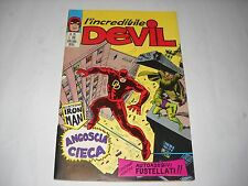 L' INCREDIBILE DEVIL NUMERO 26 CON ADESIVI EDITORIALE CORNO 1971 GADGET
