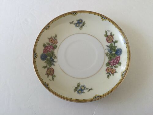 """5-1//2/"""" TEA CUP SAUCER Noritake China Japan ELYSIAN Floral"""