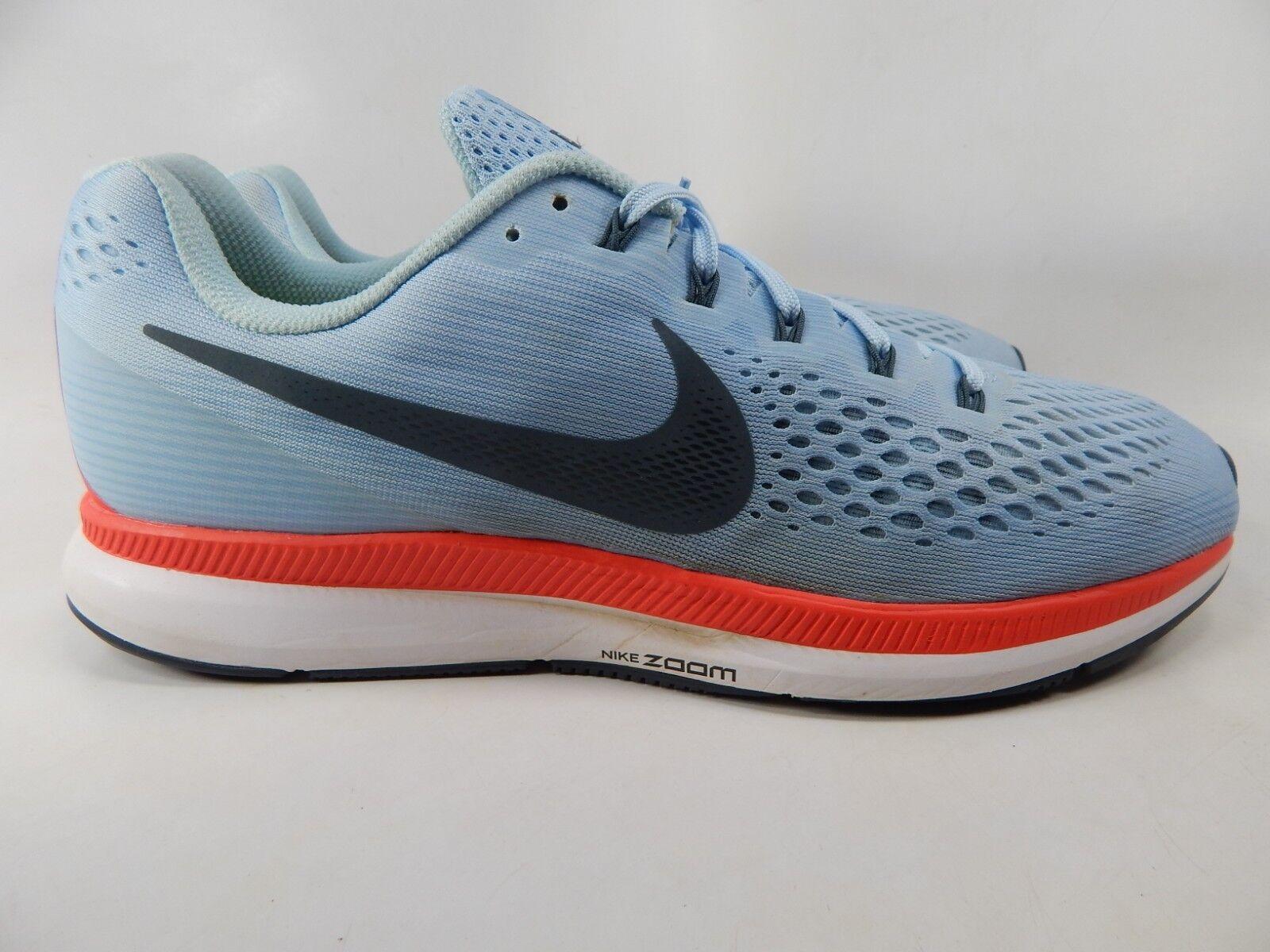 Nike Air Zoom Pegasus 34 Size 13 M (D) EU 47.5 Men's 'Ice bluee' shoes 880555-404