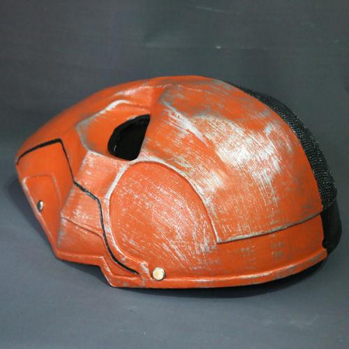 Version Orange Deathstroke Mask Helmet Cosplay Arkham Deathstroke Resin Mask New
