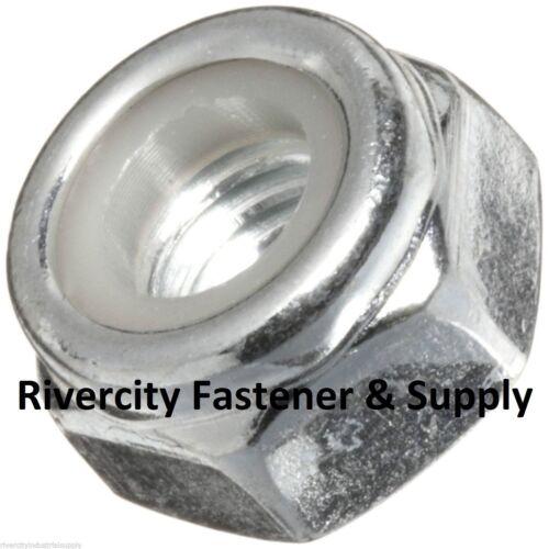 (25) 5/8-18 Nylon Insert Lock Nut Thin / Jam / Half thick NTE Series Fine Thread