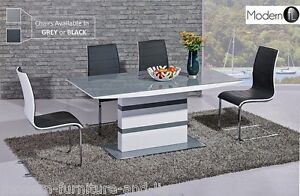 MODERN-SMALL-GREY-AND-WHITE-HIGH-GLOSS-EXTENDING-DINING-TABLE-EXTENDING-DINING