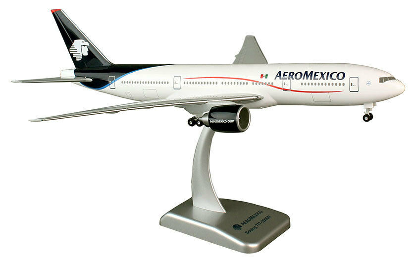 Aeromexico Boeing 777-200er 1 200 hogan wings 4760 avion modèle b777 NEUF