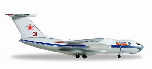New 1//500 Herpa Wings Russian Air Force Ilyushin IL-76 Marshal Skrypko 526746