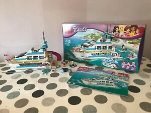 LEGO Friends Dolphin Cruiser (41015) 100% complete  & boxed