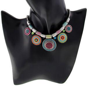 Women-Fashion-Jewelry-Crystal-Choker-Pendant-Chunky-Statement-Chain-Bib-Necklace