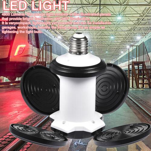 Super Bright Industrial Lighting 60W E27 Led Garage Light Lamp 4800LM 85-265V