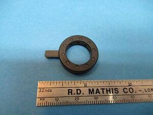 IRIS-DIAPHRAGM-POLYLITE-REICHERT-AUSTRIA-OPTICS-MICROSCOPE-PART-AS-IS-amp-85-A-49