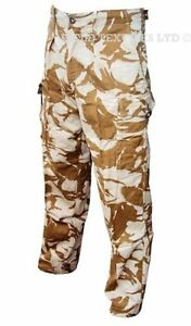Desert-Sand-Camo-TROUSERS-Camping-British-Army-Military-Genuine-Issue-SALE
