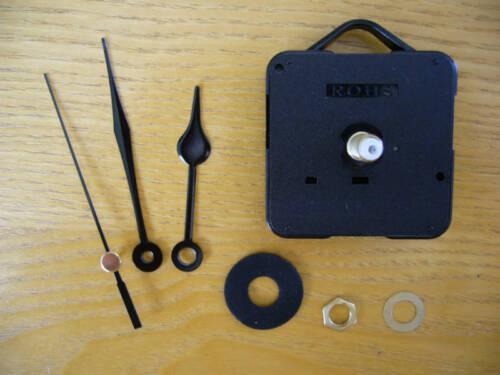 Horloge MOUVEMENT QUARTZ courte fusée contr 73 mm black hands