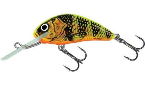 Salmo HORNET GALLEGGIANTE dei pesciolini artificiali medio//Pesce Persico Luccio Esca Plug