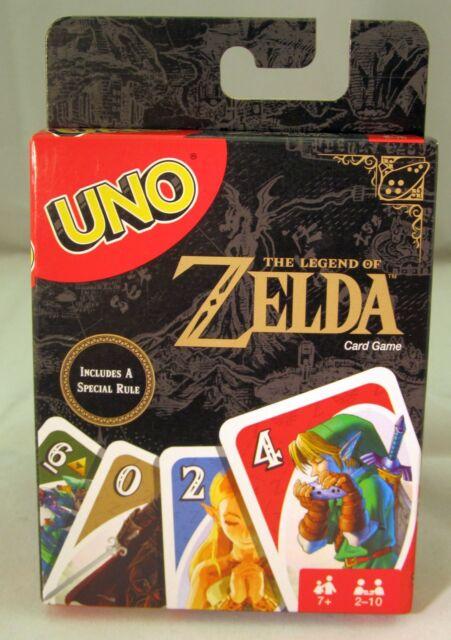 The Legend of Zelda - Uno Card Game (Mattel, 2017) New Sealed (Hyrule, Link)
