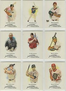 2008-Topps-Allen-and-Ginter-With-SPs-amp-Flags-Baseball-Team-Sets-Pick-Your-Team