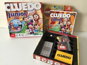 Hasbro-Cluedo-Junior-Case-Of-The-Missing-Prizes-Kids-Board-Game-98-Complete