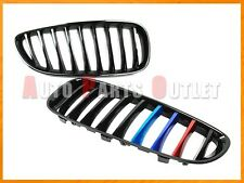 Shiny Gloss Black M Tri Metal Color Front Kidney Grille For 09-15 BMW E89 Z4