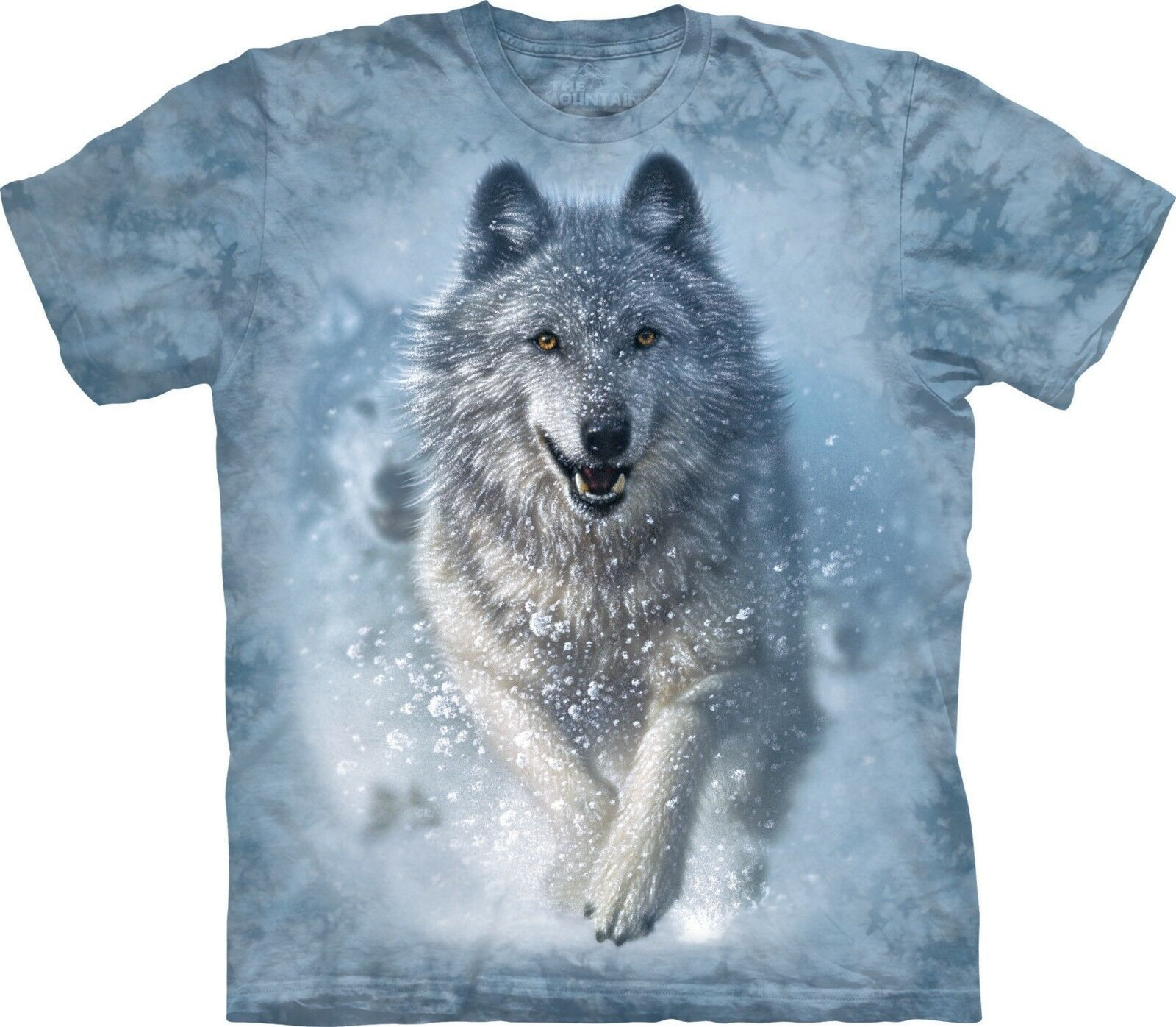 Snow Plow Wolf T Shirt Adult Unisex The Mountain