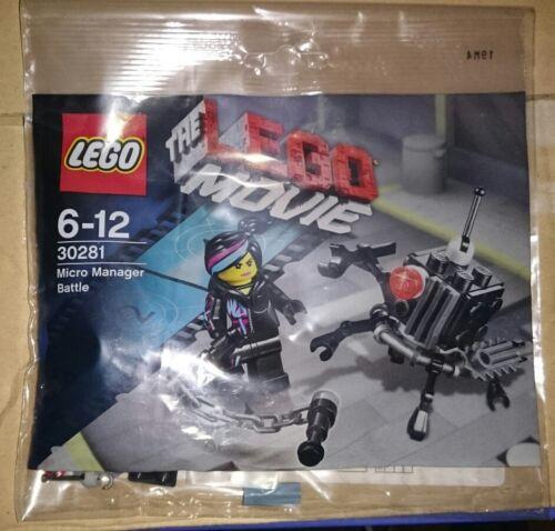Lego Movie Lego 30281 Promo Micro Manager Battle Polybag