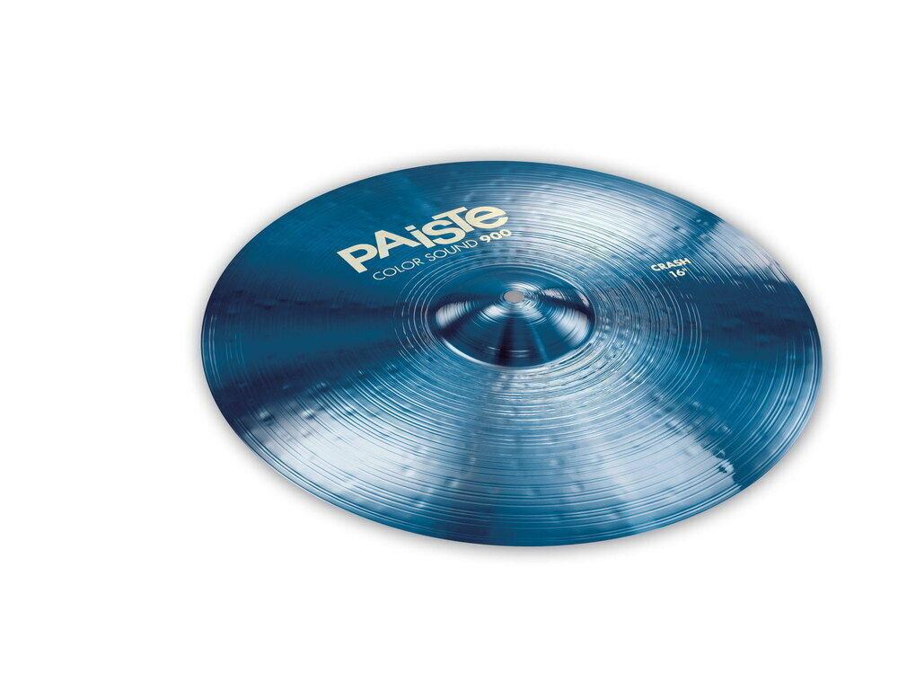 PAISTE 16  colore sound 900 blu Heavy Crash