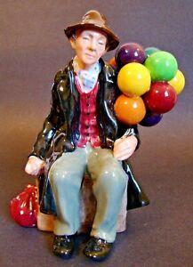 Royal-Doulton-Porcelain-Figurine-HN-1954-The-Balloon-Man-7-034-H-1025