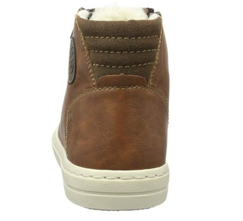 Eu40 Bnib Sneakers scarpe Rieker Uk6 Brown Boys Uomo Antistress 5 Fleece Lined XBWX7vP