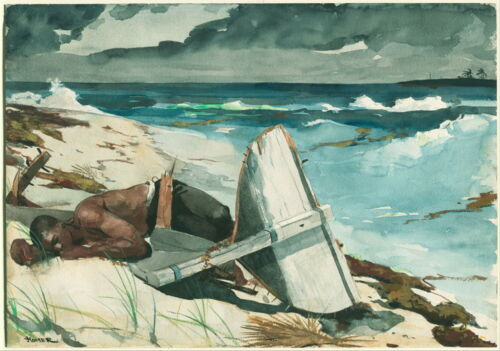 Winslow Homer After the Hurricane Bahamas Giclee Paper Print Poster Reproduction