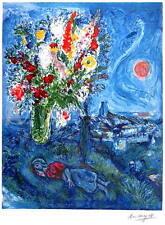 Marc Chagall La Dormeuse Aux Fleurs Signed S/N Ltd With COA Last Ones!