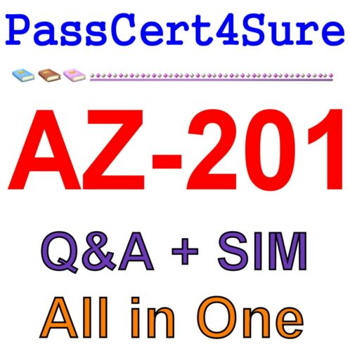 Best Exam Practice Material for AZ-201 Exam Q&A+SIM