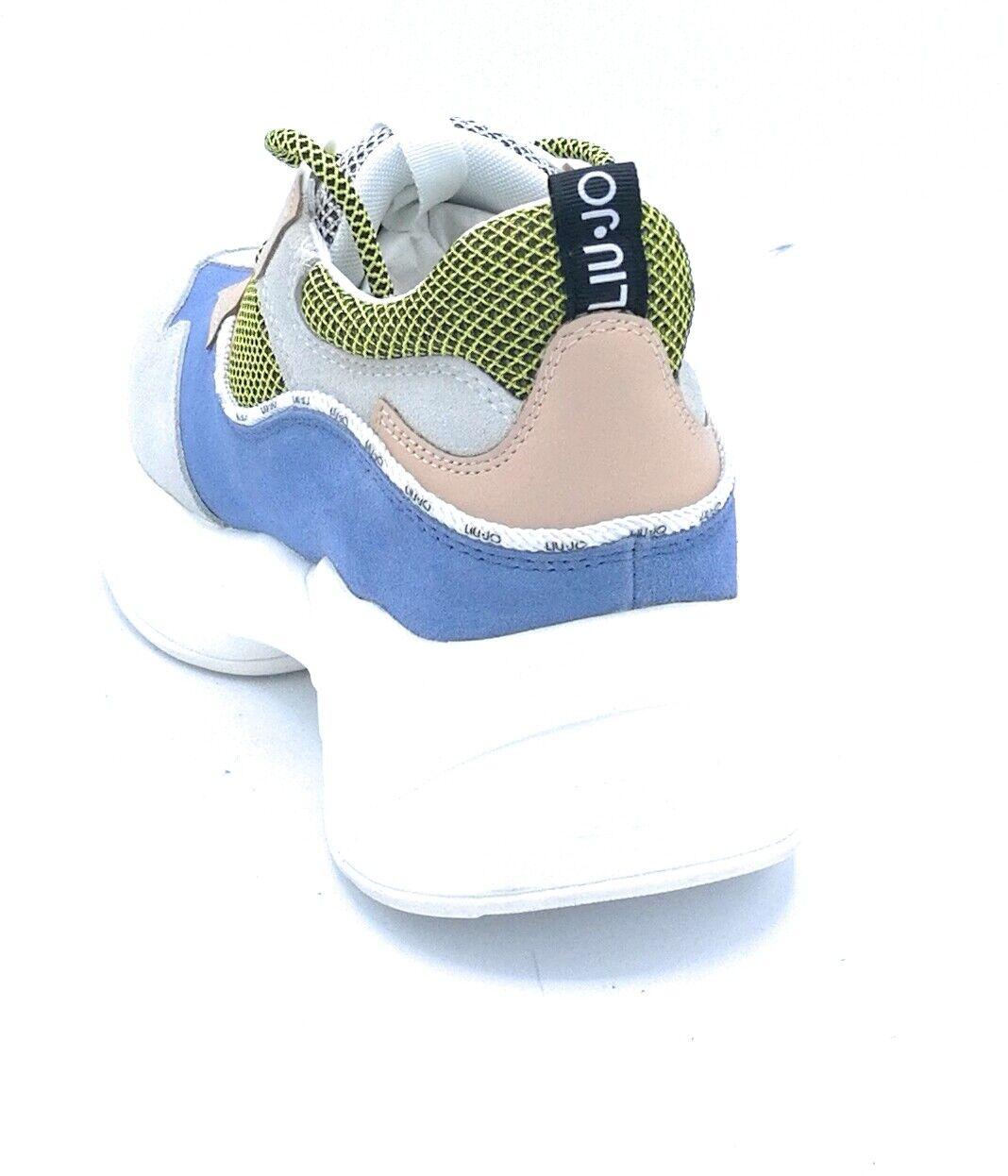 Liu Jo B19035 Sportschuhe Schnürsenkel Gämse Mehrfarben    c06ded