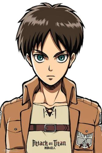 Maxi Poster 61cm x 91.5cm new and sealed Attack on Titan Eren